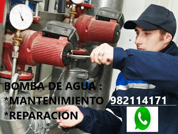Mantenimiento y Reparación de Bombas de Agua en San Borja, Surco, La Molina