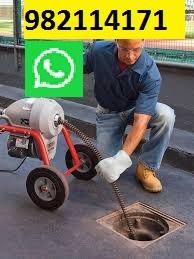 Desatoro, Mantenimiento, Limpieza de Desague con Maquina en San Isidro, Miraflores