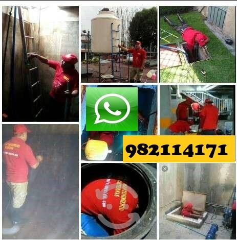 Limpieza, mantenimiento de cisterna, tanque con agua en surco, san isidro, la molina, san borja, miraflores, lima, callao